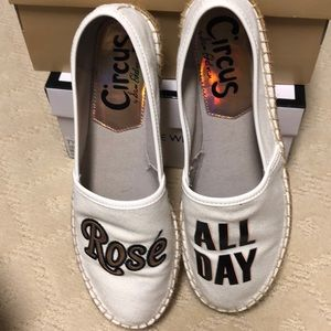 Rose all Day espadrille by Circus Sam Edelman.